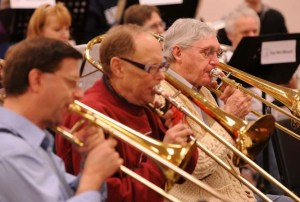 New Horizons Band at Temple Beth Or in Kettering.